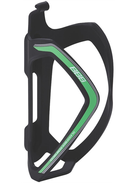 BBB FlexCage BBC-36 Flaschenhalter matt schwarz/grün